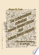 Der Briefwechsel zwischen Johann Caspar Horner und Johann Georg Repsold
