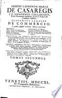 Discursus legales de commercio