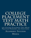 College Placement Test Math Practice