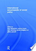 International Encyclopedia of Social Policy