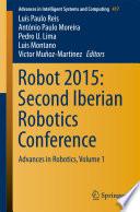 Robot 2015: Second Iberian Robotics Conference