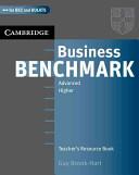 Business Benchmark Advanced Teacher s Resource Book