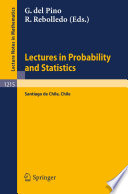 Lectures in Probability and Statistics