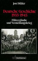 Deutsche Geschichte 1933-1945
