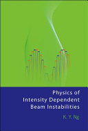 Book Physics of Intensity Dependent Beam Instabilities
