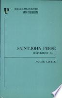 Saint John Perse