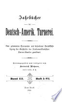 Jahrbücher der Deutsch-Amerikanischen Turnerei
