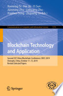 Blockchain Technology and Application