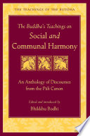 The Buddha s Teachings on Social and Communal Harmony