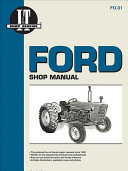 Ford Shop Manual Series 2000 3000 4000