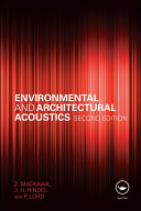 Environmental and Architectural Acoustics Book