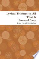 Essays And Poems Pdf/ePub eBook