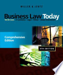 Business Law Today  Comprehensive  Text and Cases