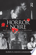 Horror Noire : horror film has always been a...