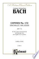 Cantata No  172    Erschallet  ihr Lieder  BWV 172
