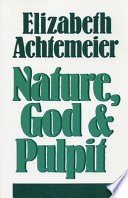 Nature, God and Pulpit