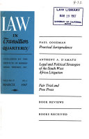 Law in Transition Quarterly