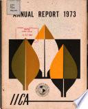 Annual Report 1973 book