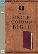 Single Column Bible NIV