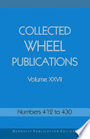 Collected Wheel Publications Volume XXVII