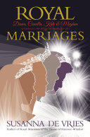Royal Marriages Book