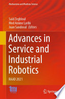 Advances in Service and Industrial Robotics Book PDF