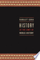 History at the Limit of World history