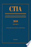 CTIA  Consolidated Treaties and International Agreements 2010 Vol 4