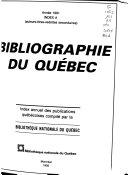 Bibliographie Du Qu  bec