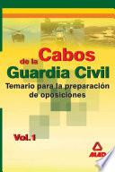 Cabos de la Guardia Civil  Temario  Volumen i Ebook