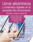 Libros electr  nicos y contenidos digitales en la sociedad del conocimiento