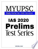 UPSC IAS Prelims 2020 GS Paper-1:Practice Mock Test 4