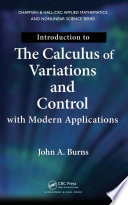 Introduction to the Calculus of Variations and Control with Modern Applications