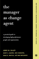 The Manager As Change Agent