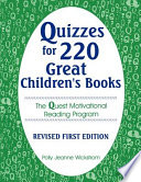 Quizzes for 220 Great Children s Books