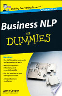 Business NLP For Dummies, UK Edition