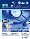 Psychotherapie im Dialog - Psychotherapie mit körperlich Kranken