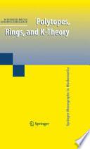 Polytopes  Rings  and K Theory