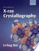 Principles of X ray Crystallography