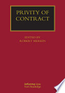Privity of Contract  The Impact of the Contracts  Right of Third Parties  Act 1999