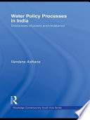 Water Policy Processes in India