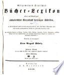 Bd. 1835-41. Hrsg. von O. A. Schulz. 1846-49. 2 v