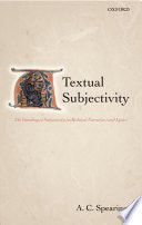 Textual Subjectivity