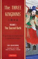 Three Kingdoms Volume 1 The Sacred Oath book