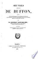 Oeuvres completes de Buffon  3
