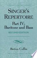 The Singer S Repertoire Part Iv