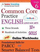 Common Core Practice   6th Grade English Language Arts