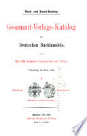 Buch  und kunst katalog