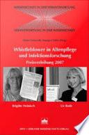 Whistleblower in Altenpflege und Infektionsforschung
