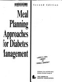 Meal Planning Approaches for Diabetes Management